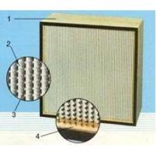 Фильтр ячейковый складчатый ФяС - 11 С 1 02. 3 П